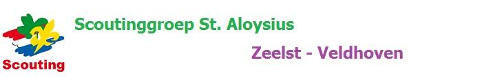 Scoutinggroep St. Aloysius Zeelst Veldhoven
