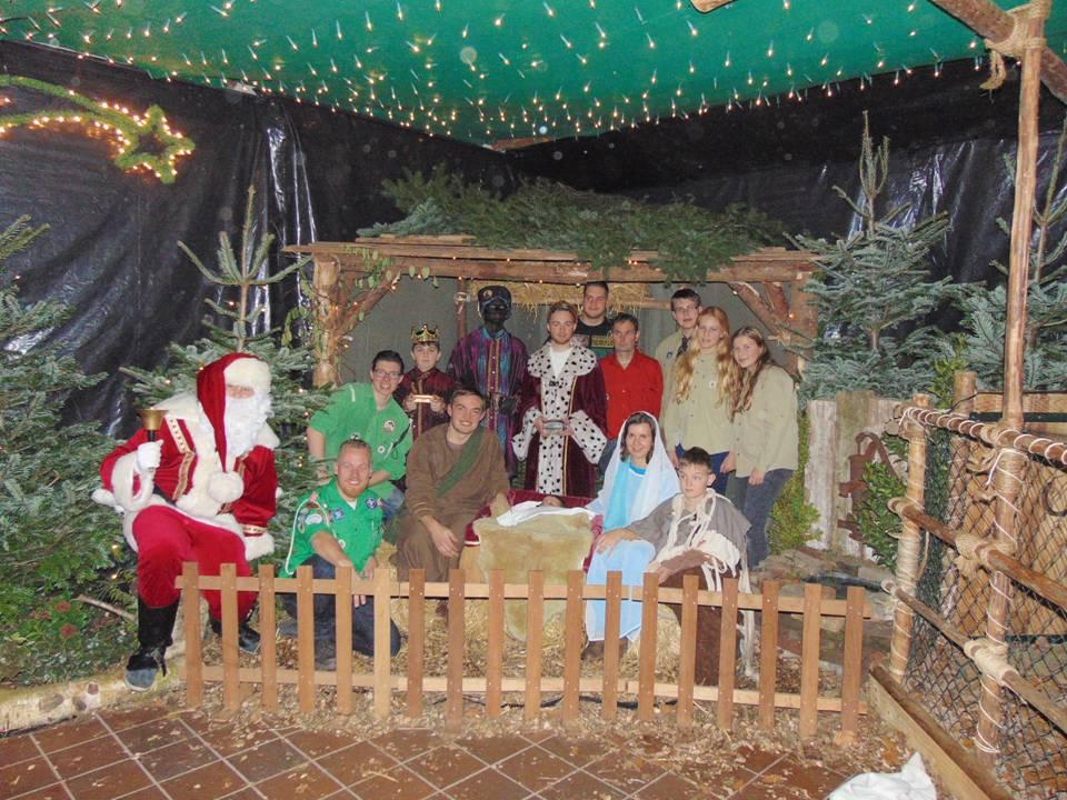 Kerststal 2016