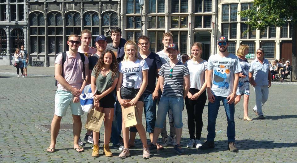 Explorers en Pivo's in Antwerpen - Juni 2017